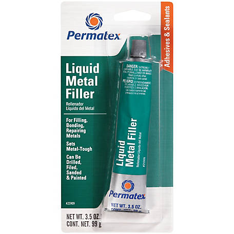 Permatex Liquid Metal Filler