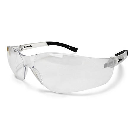 Stanley A700 Safety Eyewear, Clear Frame, Clear Lens, SYE10-10BP