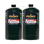 BernzOmatic Propane Camping Cylinder, Pack of 2