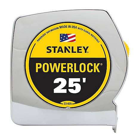 Stanley 25 ft. Powerlock Tape Measure