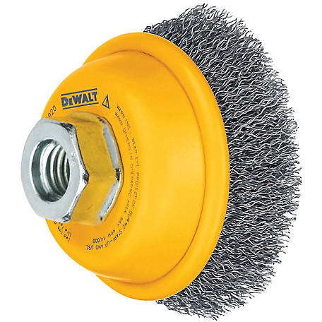 DeWALT 3 in. Crimped Cup Brush