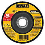 DeWALT 4-1/2 in. x 1/4 in. x 7/8 in. TYPE 27 Metal & Stainless Steel High Performance Grinding Wheel