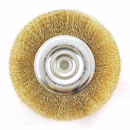 Mibro 6 in. Fine Wire Wheel Brush