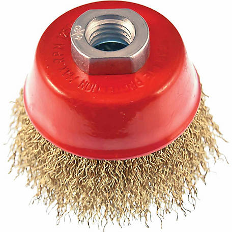 Mibro 3 in. Industrial Crimped Cup Brush
