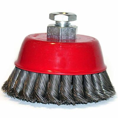 Mibro 4 in. Industrial Knotted Cup Brush