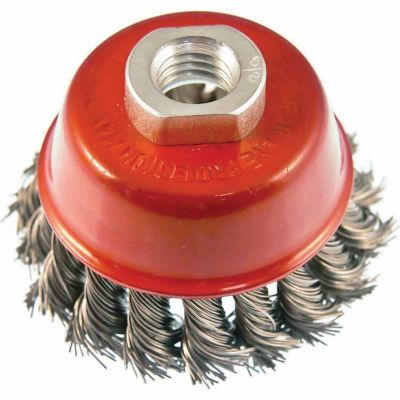 Mibro 3 in. Industrial Knotted Cup Brush
