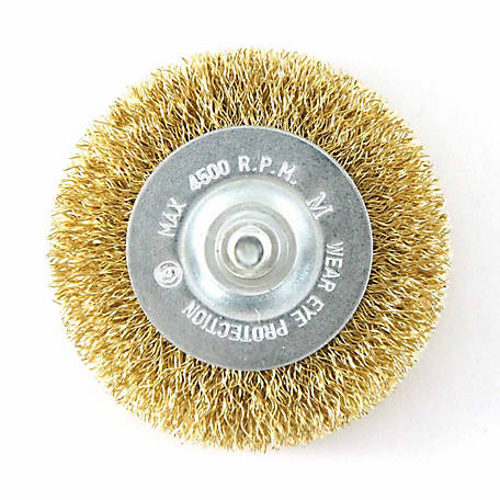 Mibro 3 in. Coarse Wire Wheel Brush