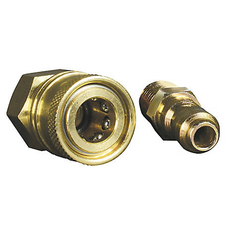 Apache Hose 1/4 in. Quick Disconnect Adapter Set