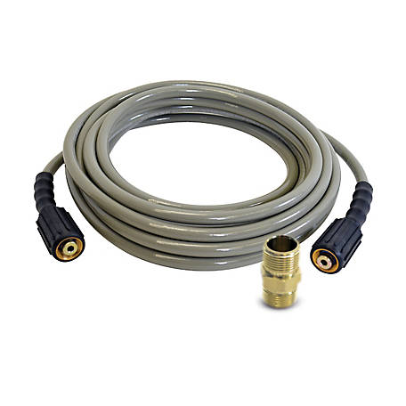 Simpson SIMPSON MorFlex 1/4 in. x 25 ft. x 3200 PSI Cold Water Replacement/Extension Hose, 41107