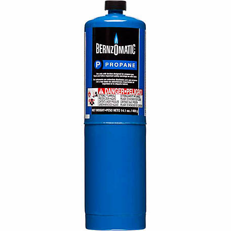 BernzOmatic Propane Hand Torch Cylinder, 14.1 oz.