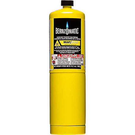 BernzOmatic MAP-Pro Hand Torch Cylinder, 14.1 oz.