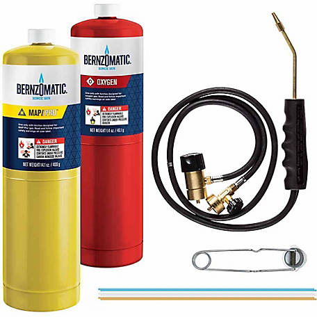 BernzOmatic Cutting, Welding and Brazing Torch Kit