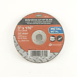 Mibro 3 in. x 1/16 in. x 3/8 in. Metal Cut-Off Abrasive Wheel