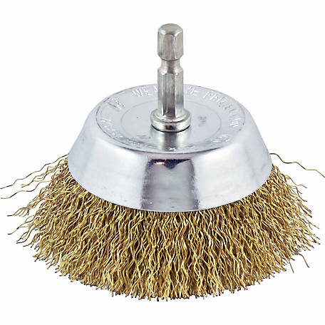 Mibro 3 in. Coarse Wire Cup Brush