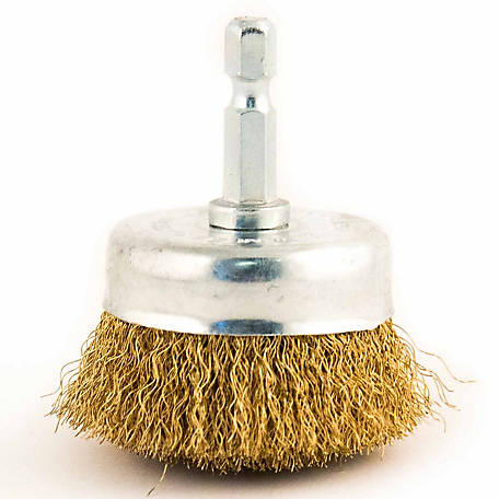 Mibro 2 in. Fine Wire Cup Brush