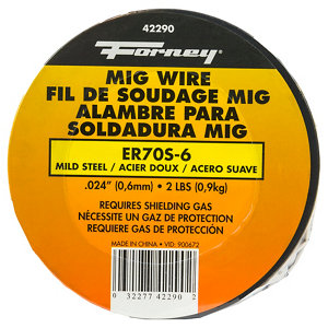 Forney Mild Steel MIG Wire, .023 Diameter, 2 lb. Spool at Tractor ...