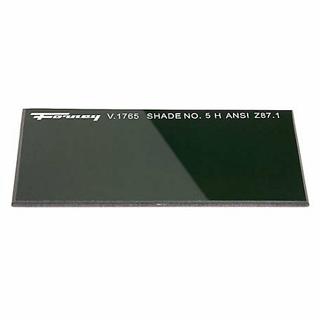 Forney Welding Lens, Shade #5, 2 in. x 4-1/4 in.