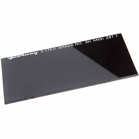 Forney Welding Lens Replacement, 4-1/4 in. x 2 in., Shade #9