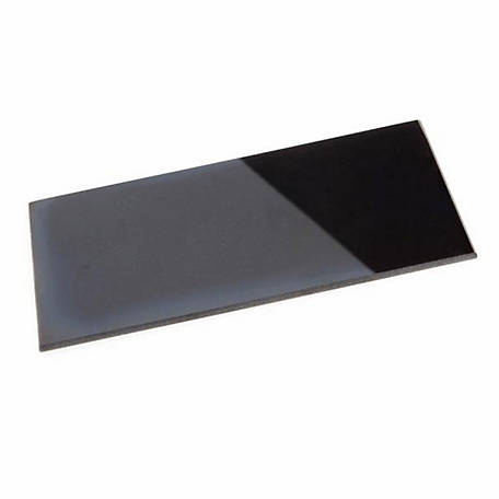 Forney Welding Lens Replacement, 4-1/4 in. x 2 in., Shade #12