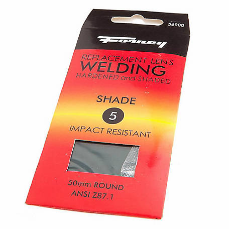 Forney Welding Lens Replacement, 5-1/4 in. x 4-1/2 in., Shade #8