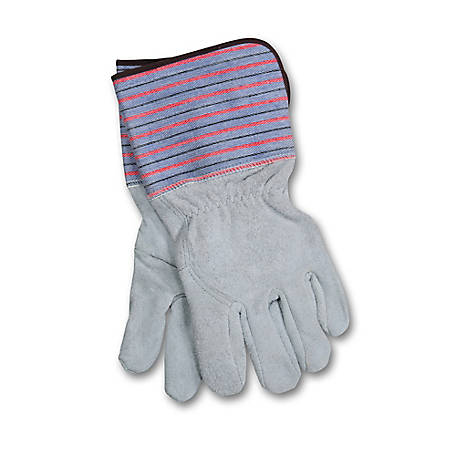 Hobart Deluxe Blue Welding Gloves, Unlined, XL, 770213