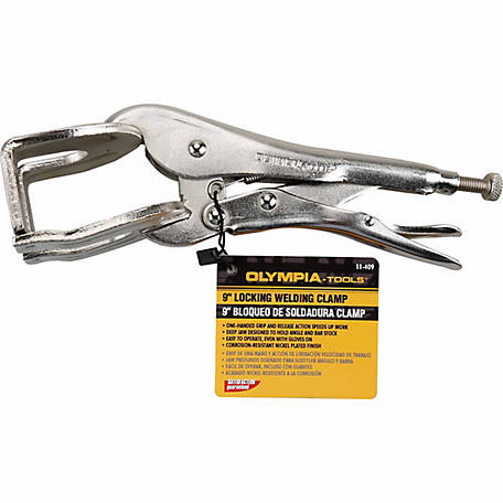 Olympia 9 in. Locking Welding C-Clamp