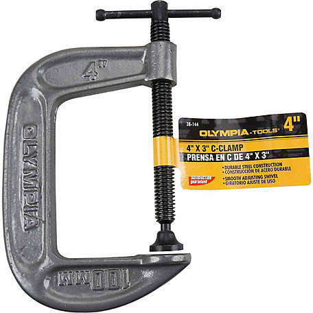 Olympia 4 in. C-Clamp