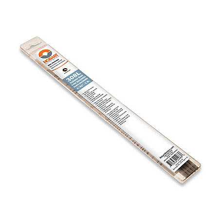 Hobart Stainless Steel 308L Stick Electrode, 3/32 in., 1 lb