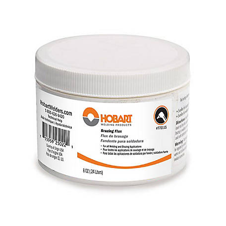 Hobart Brazing Flux, 8 oz., 770119