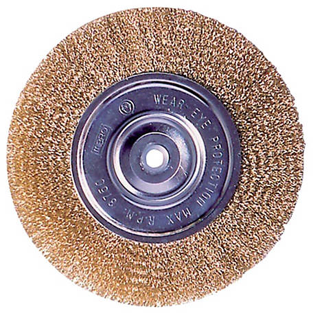 Mibro 4 in. Wire Wheel Brush, Coarse