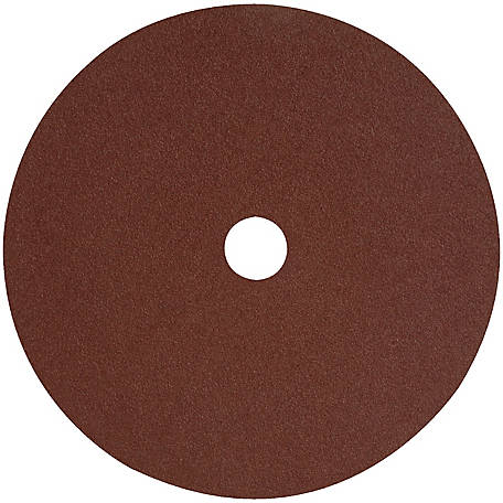 DeWALT 4-1/2 in. x 7/8 in. 60 GRIT Aluminum Oxide High Performance Fiber Disc, DARB1G0625