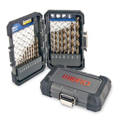 Cobalt Drill Bit Set >> Mibro 17 Piece Cobalt Steel Drill Bit Set At Tractor Supply Co