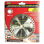 Mibro 4.5 in. Continuous Rim Turbo Diamond Blade