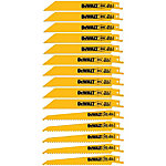 DeWALT 15 Piece Bi-Metal Reciprocating Saw Blade Set with Tough Case