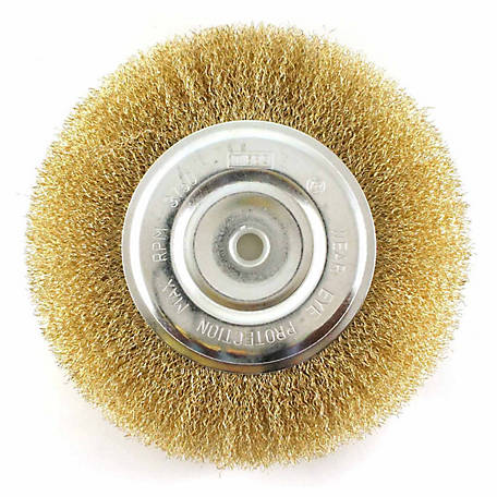 Mibro 8 in. Fine Wire Wheel Brush