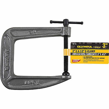 Olympia 3 in. x 4-1/2 in. C-Clamp