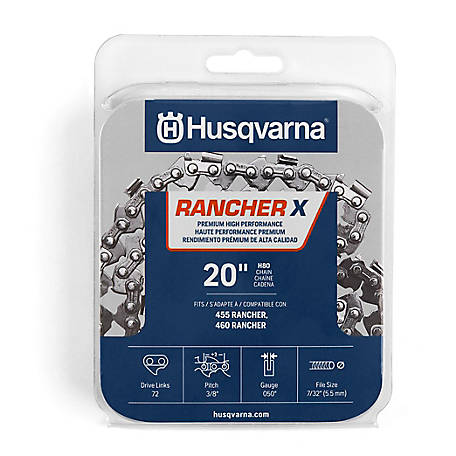 Husqvarna 20 in. Replacement Chain, 3/8 in.