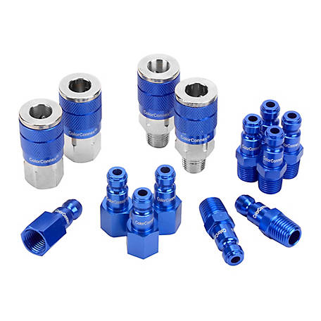 ColorConnex Automotive 14 Piece Coupler and Plug Kit