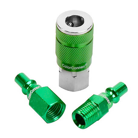ColorConnex ARO 7 Piece Coupler and Plug Kit