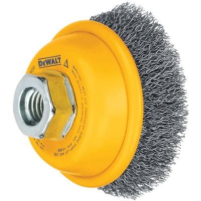 DeWALT 4in. Knotted Cup Steel Brush