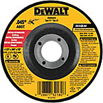 DeWALT 4-1/2 in. x .045 in. x 7/8 in. High Performance Type 27 Metal/Stainless Cutting Wheel
