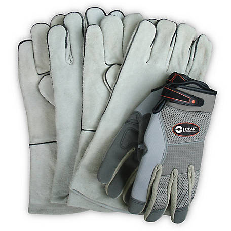Hobart Combo Pack 3 Pair Gloves, XL, 770408