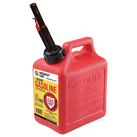 MidWest Gas Can, 1 gal. Capacity, CARB Compliant, 1210