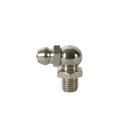 Workforce 90 deg. 1/4 in.-28 Short Angled Grease Fittings, Pack of 10, L5041