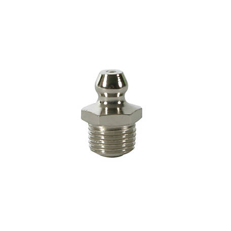 Workforce 1/8 in. Short Straight Grease Fittings, Pack of 10, L5211
