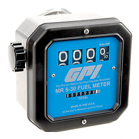GPI MR 5-30 Mechanical Fuel Meter, 126300-10TSC