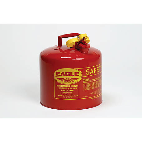 Eagle Safety Gas Can, 5 gal., F2218111