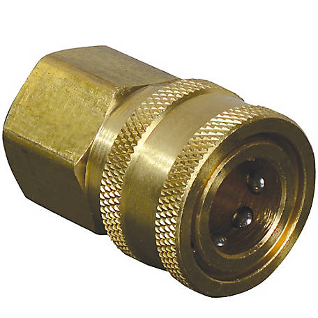 Apache Hose 3/8 in. Quick Disconnect Socket x 3/8 in. Female Pipe Thread