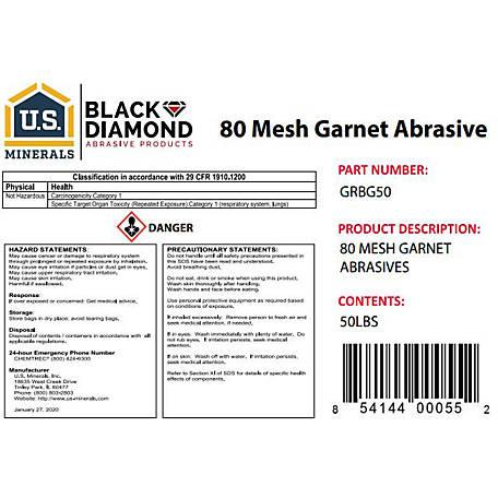 U S  Minerals Garnet Abrasive at Tractor Supply Co