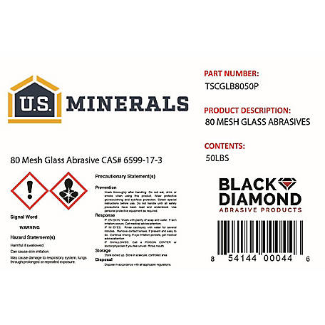 U S  Minerals Glass Abrasive at Tractor Supply Co